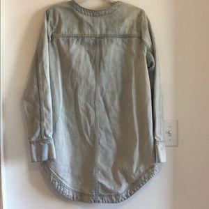 Free People Tops - free people light wash denim medium tunic